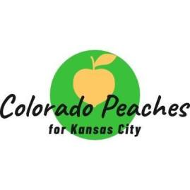 Colorado Peaches for Kansas City - logo